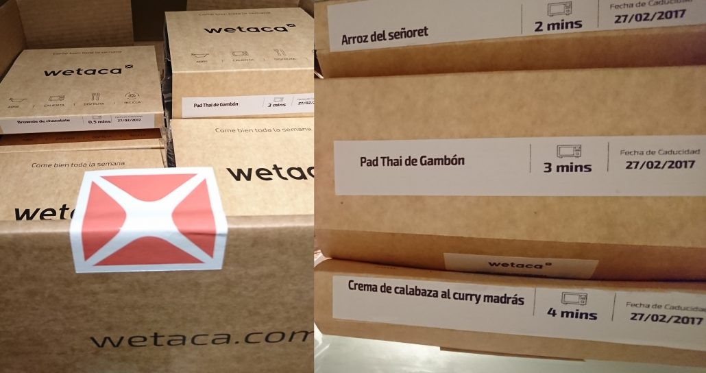 wetaca madrid menu
