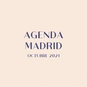 octubre agenda madrid 2021
